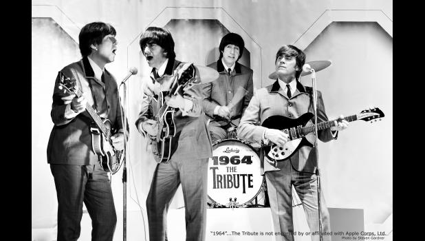 """Photo Credit: Steven Gardner - """"1964"""" The Tribute, a tribute band to The Beatles, will perform at the Riviera Theatre in Three Rivers on Saturday."""