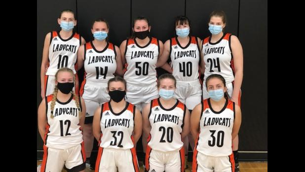 Photo provided by Don Price - The 2020-21 Marcellus varsity girls basketball team. Pictured in the front row left to right are, Gabby High, Clare Flory. Hannah Wildes and Emma Holmes; back row, Brooklyn VanTilburg, Abby Voss, Rachel Mihills, Jenna Wells and Allison Daugherty.