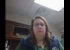 Screenshot via Zoom - Branch-Hillsdale-St. Joseph Community Health Agency Health Officer Rebecca Burns discusses the health department's plans for COVID-19 vaccine distribution during Tuesday's St. Joseph County Board of Commissioners meeting.