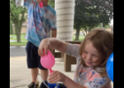 """Photo Provided - Oliver D'Angelo (left) and Evalie Arnold (right) create a water bottle fountain as part of the """"Jumping Into Inquiry"""" class at Immaculate Conception Catholic School's Summer Learning Camps."""