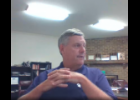 COMMERCIAL-NEWS | ROBERT TOMLINSON - Three Rivers Community Schools Superintendent Ron Moag discusses enrollment numbers in the district with the TRCS Board of Education during their meeting via Google Meet teleconference Monday.